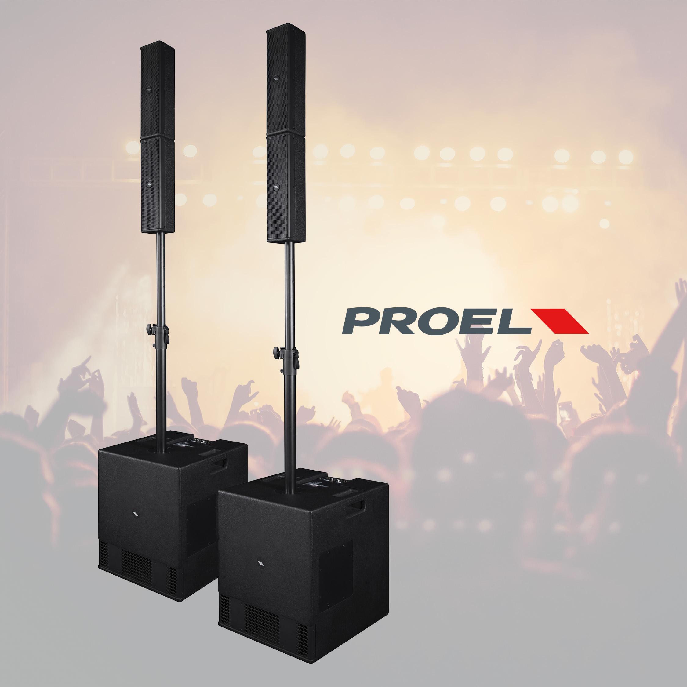 Proel SESSION4 – Kompakt portabelt Array-system