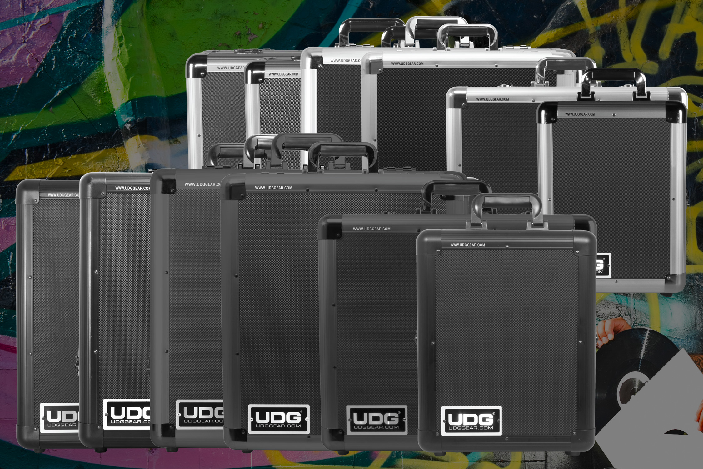UDG Gear lanserar Pick Foam Flightcases