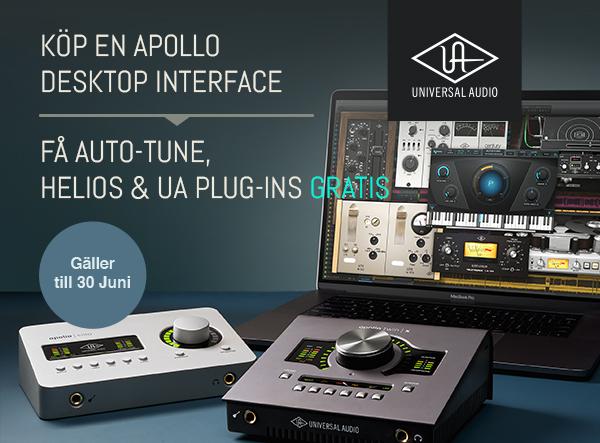 Universal Audio Apollo Twin & Solo kampanj!