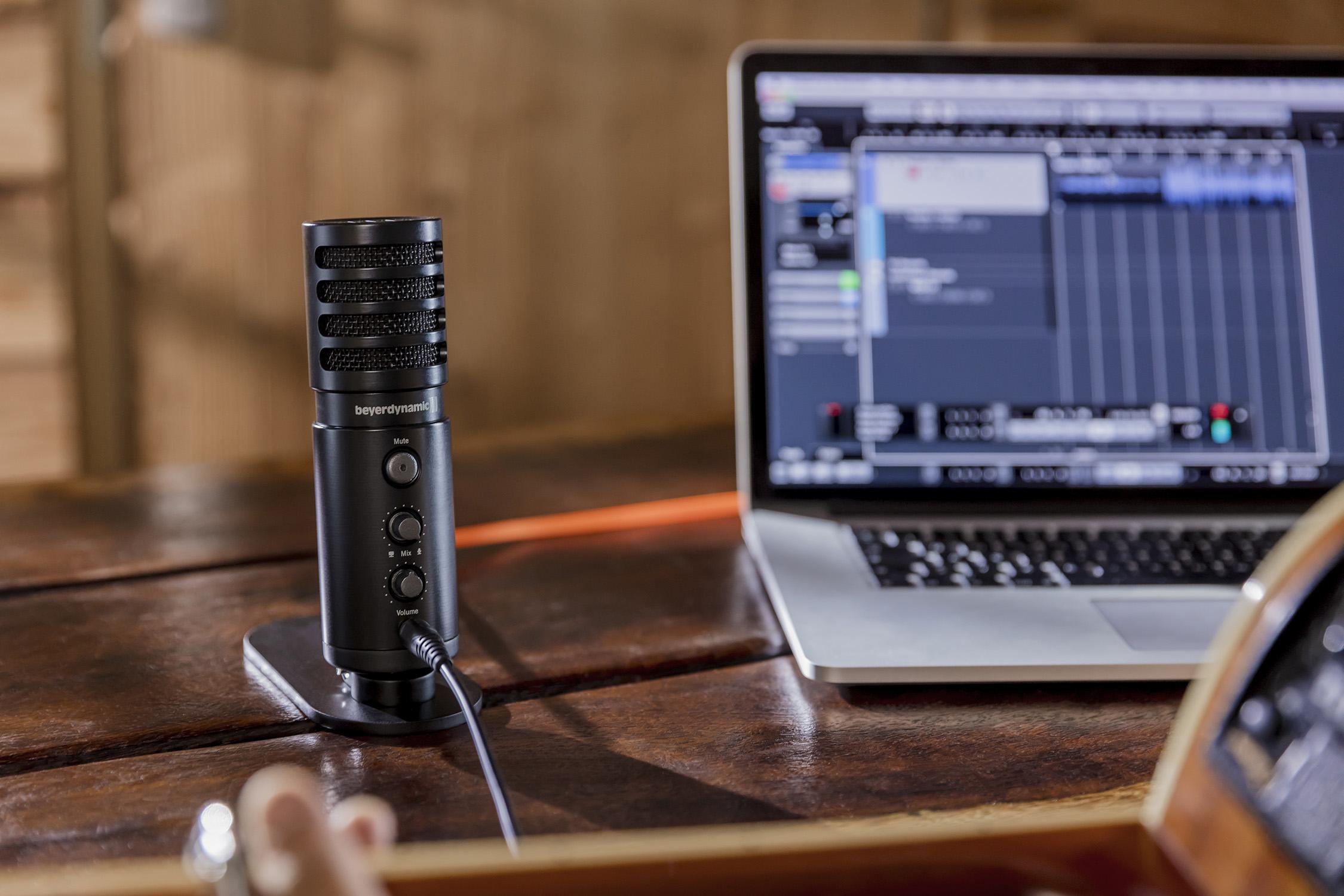 Beyerdynamic FOX – Professionell USB-mikrofon