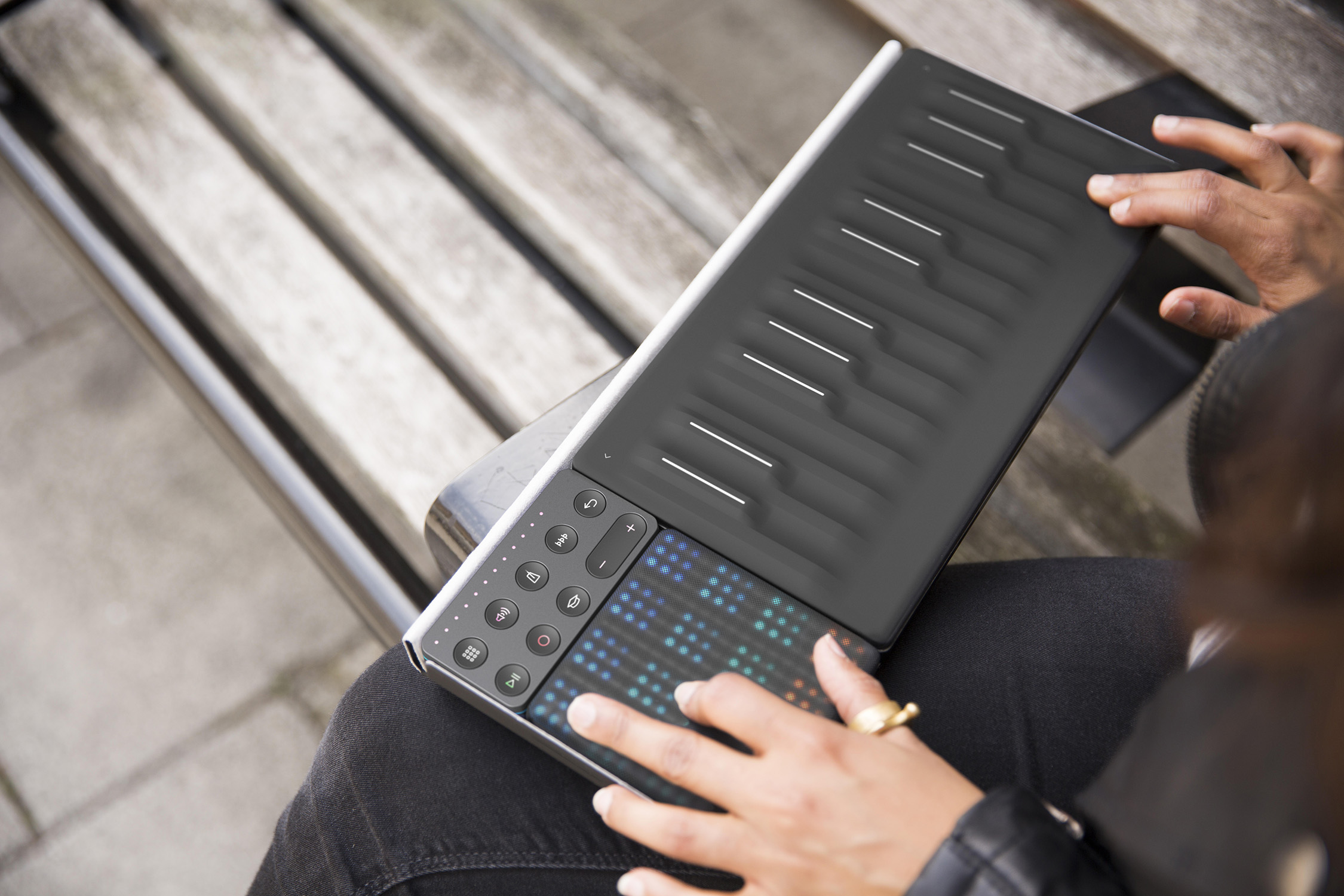 ROLI Songmaker Kit – Paket med Seaboard Block, Lightpad Block och Loop Block