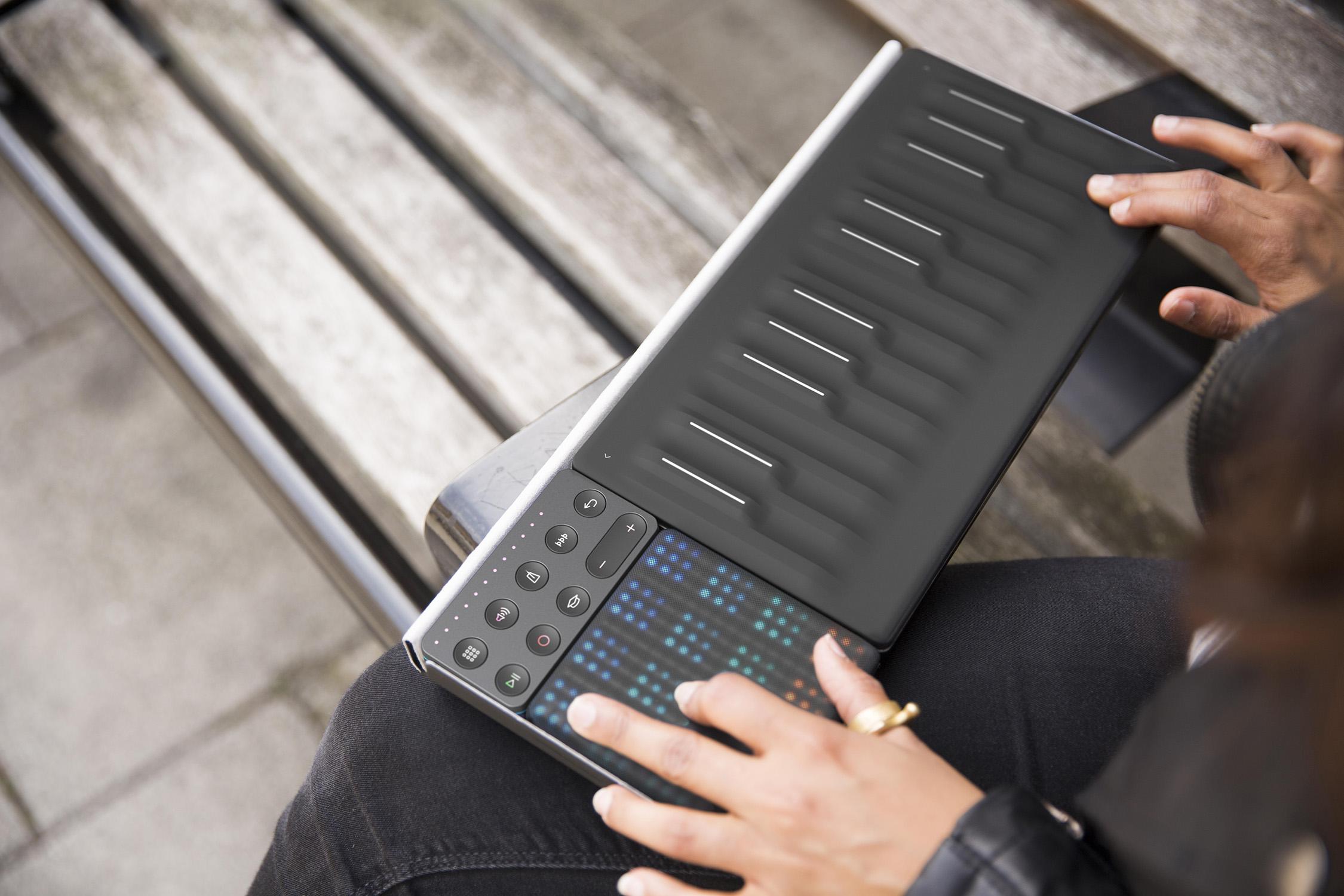 ROLI Songmaker Kit – Paket med Seaboard Block, Lightpad Block och Loop Block