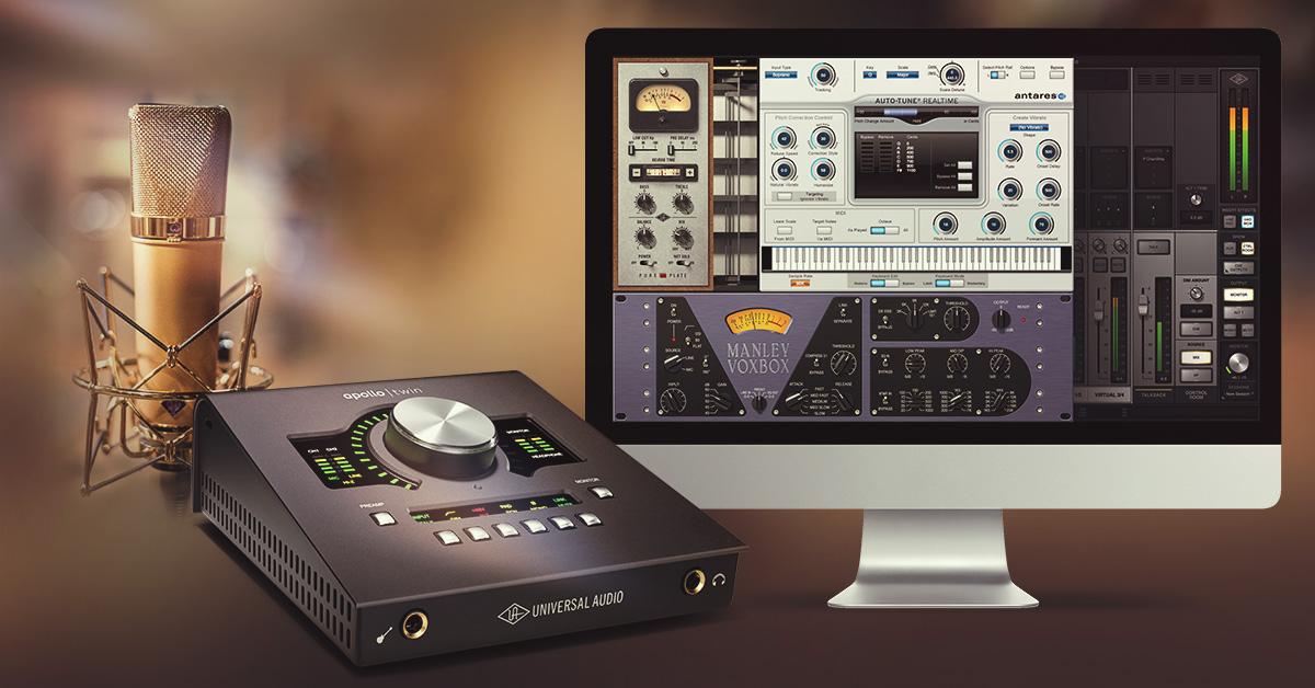 Universal Audio kampanj – Köp Apollo Twin och få gratis plug-ins för sång