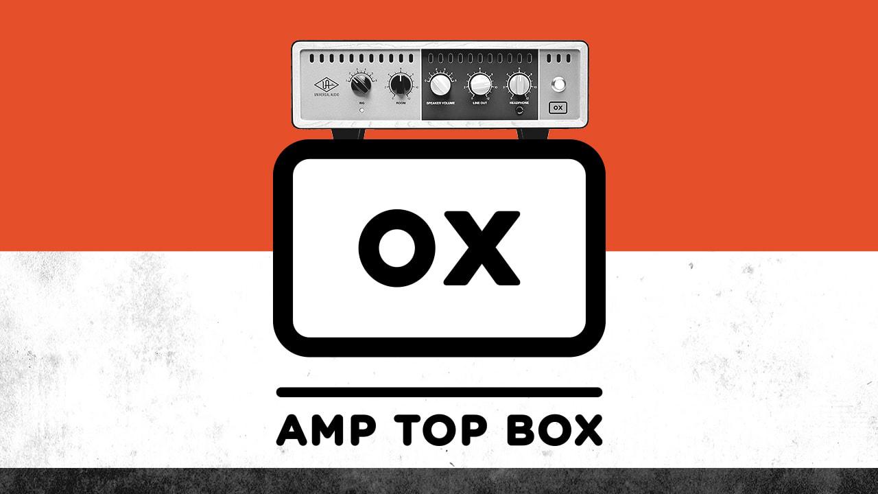 Universal Audio OX Amp Top Box – Professionell load box för rör-gitarrförstärkare