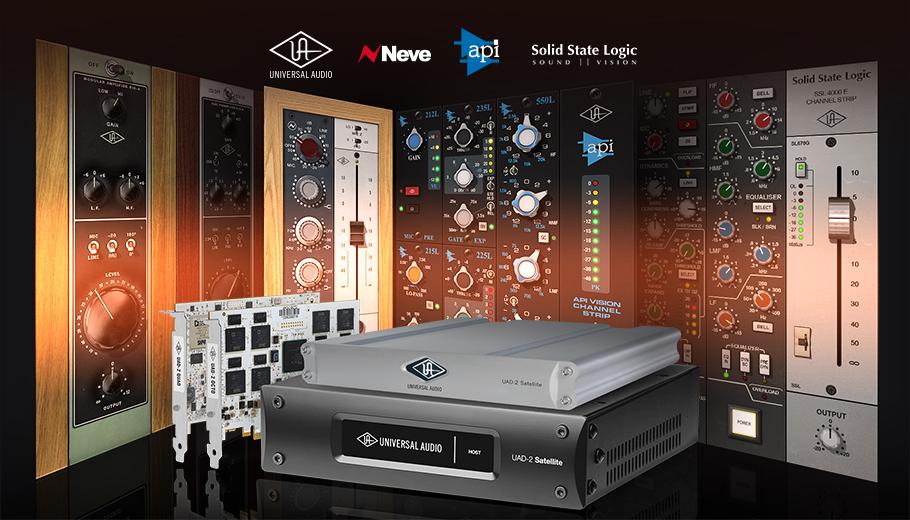 Få GRATIS Plug-ins från Neve, API & SSL i Universal Audio-kampanj