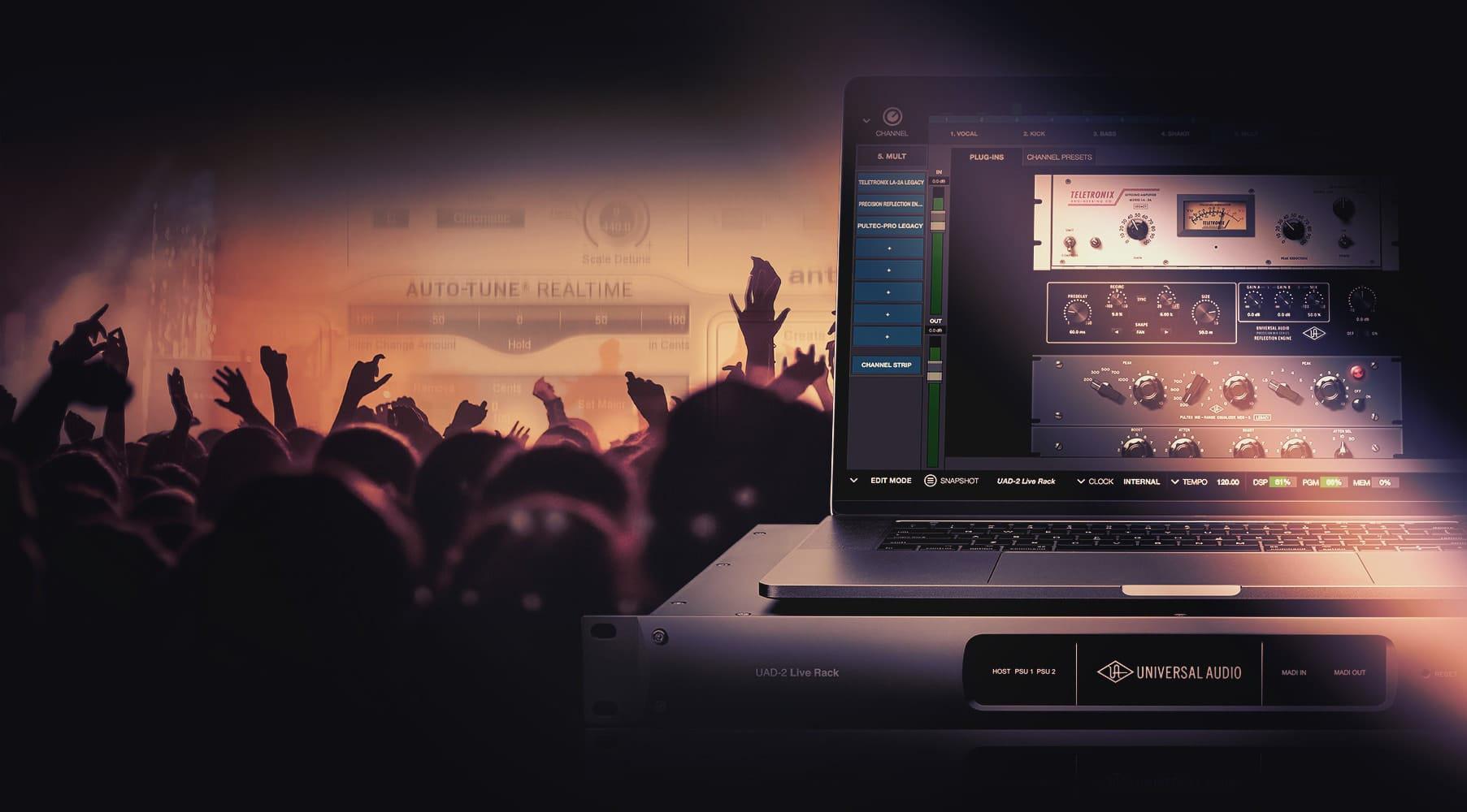 Universal Audio UAD-2 Live Rack – Använd UAD plug-ins till liveljud