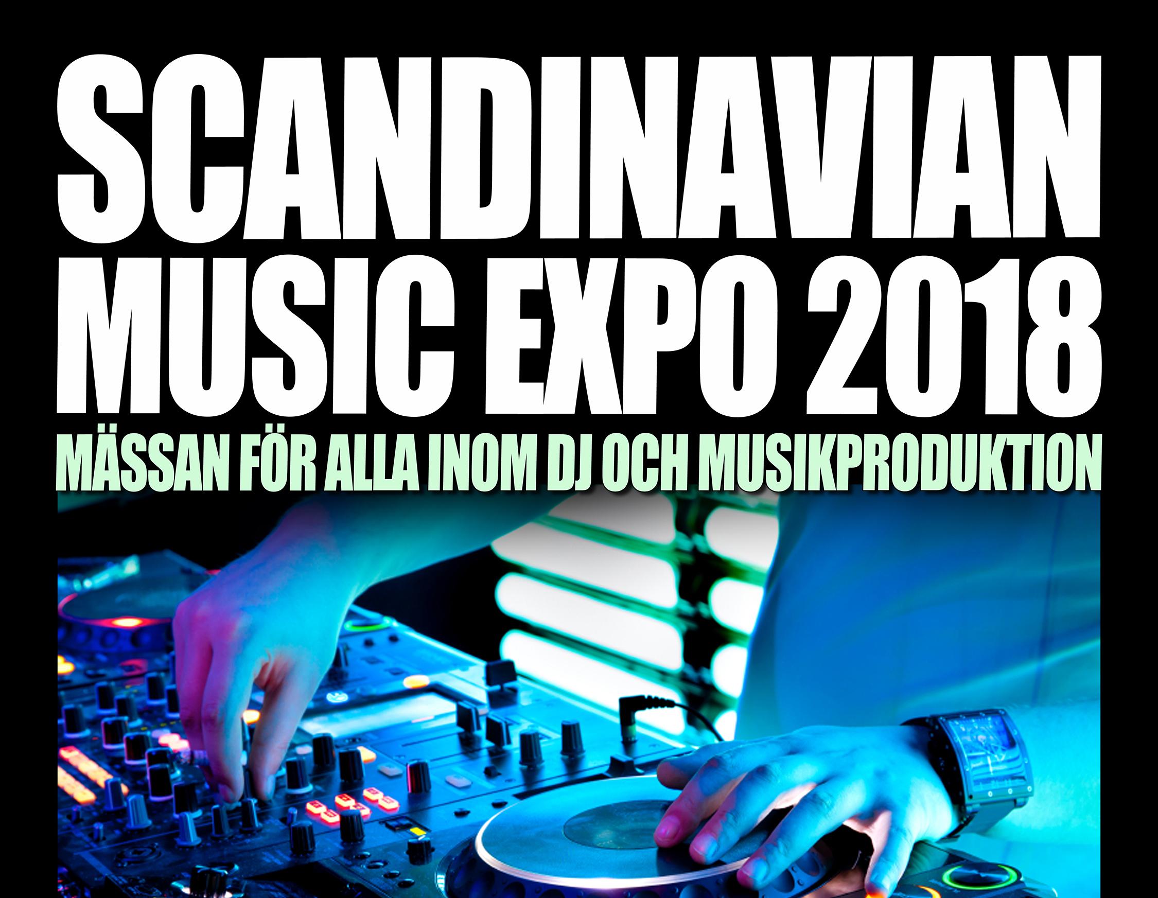 Fitzpatrick ställer ut på Scandinavian Music Expo 15:e september 2018
