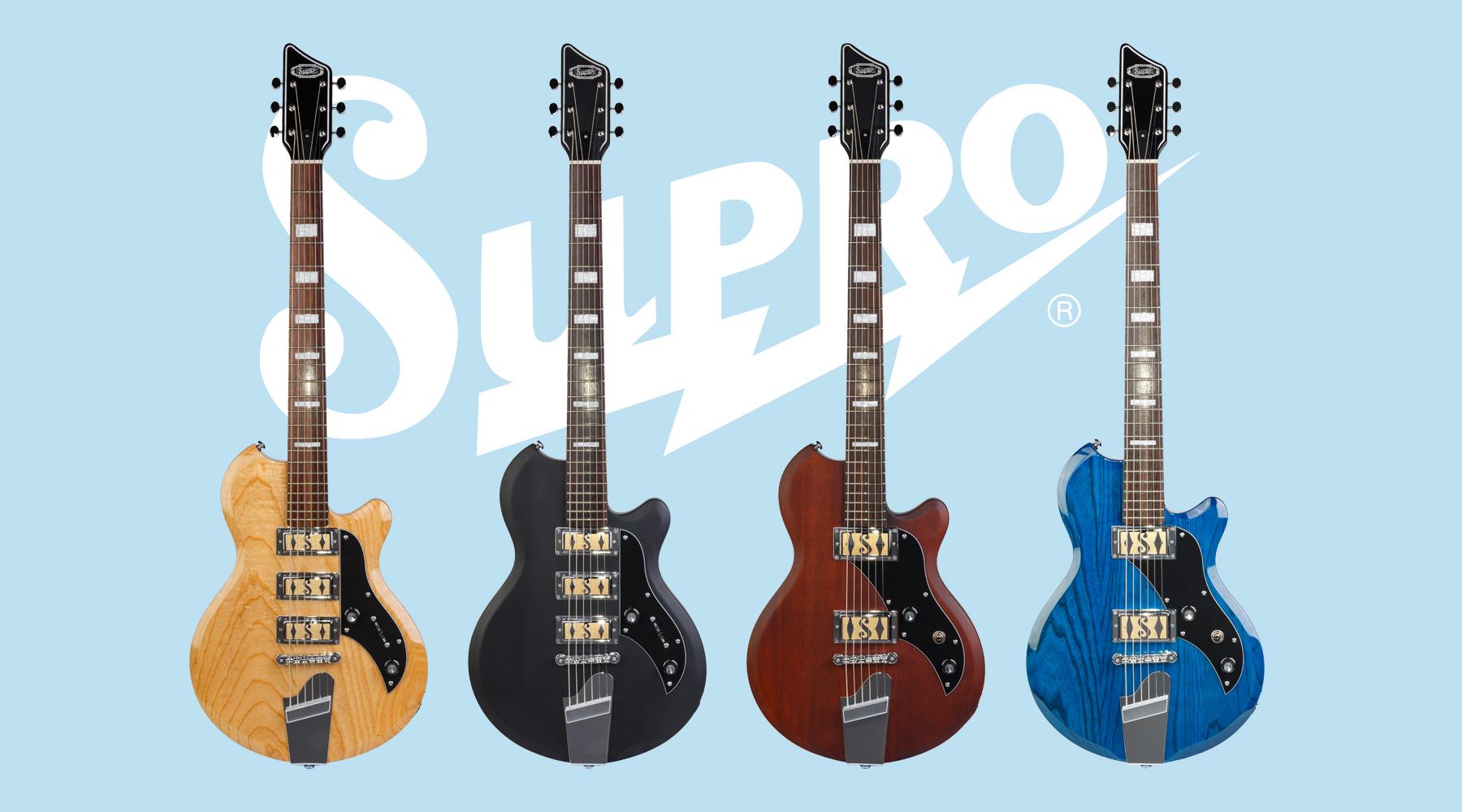 Nya Baritone-gitarrer från Supro