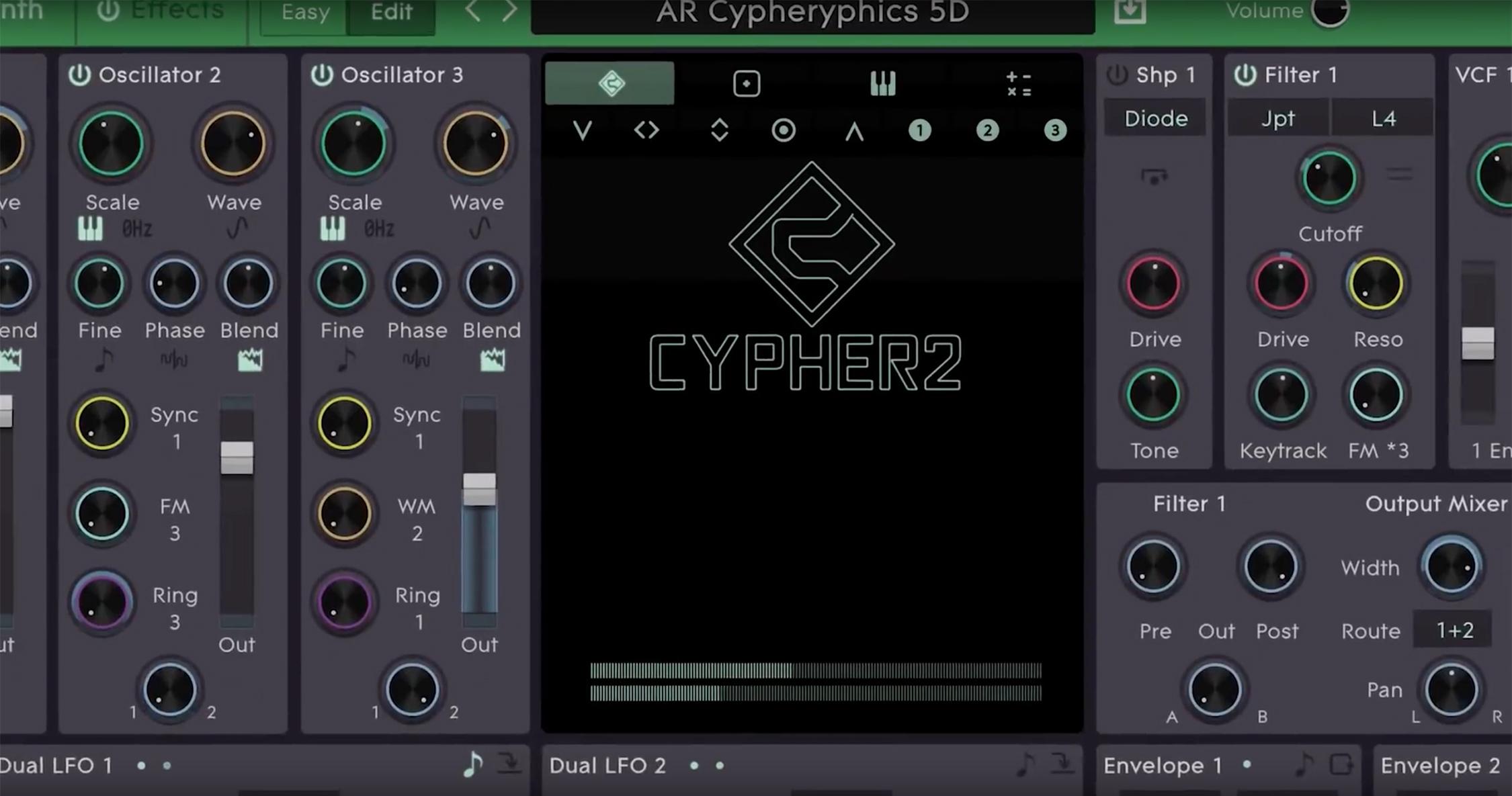ROLI och FXpansion lanserar Cypher2