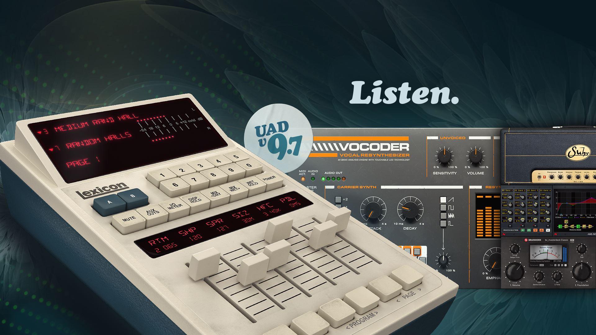 Universal Audio uppdaterar sin UAD-mjukvara till version 9.7
