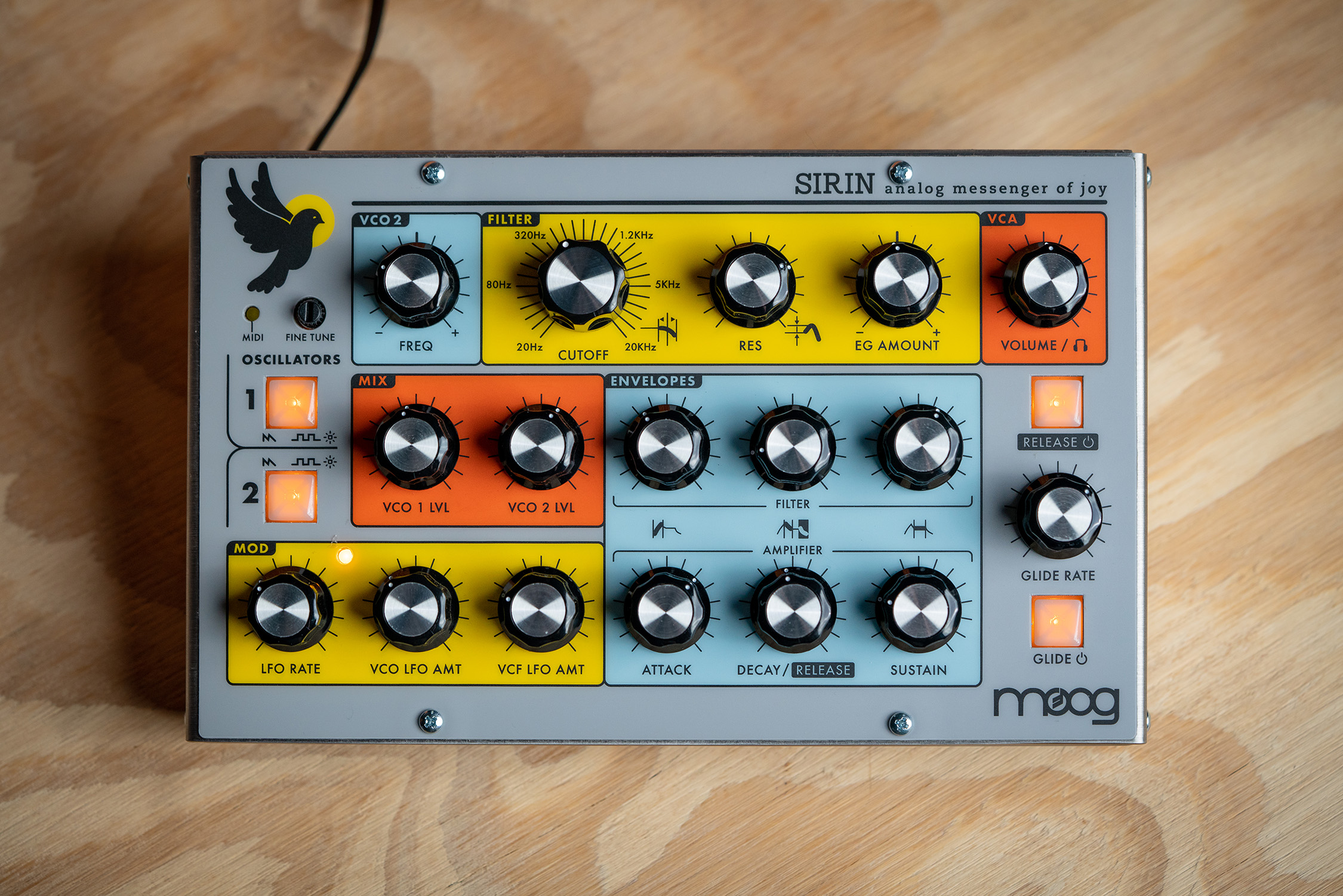 Moog Sirin – Limiterad analogsynt i Taurus-familjen