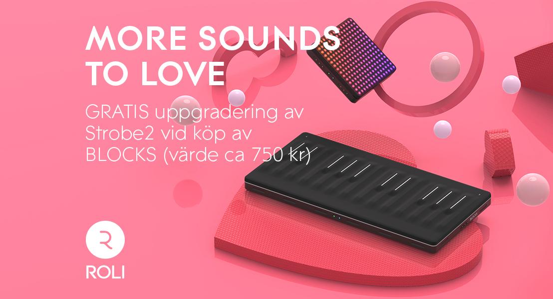ROLI kampanj – Köp BLOCKS och få uppgradering till Strobe2 utan extra kostnad