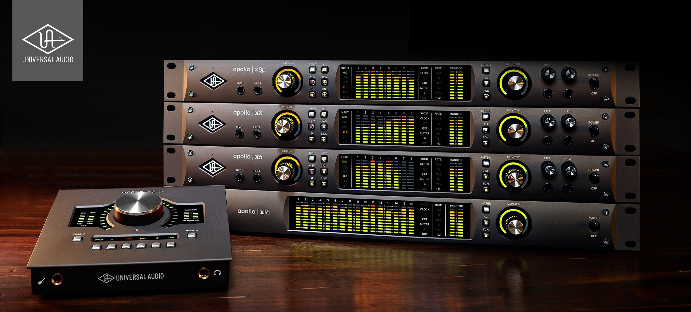 Universal Audio kampanj – Äger du en Apollo X? Köp ytterligare Apollo och få upp till 10 plug-ins utan extra kostnad