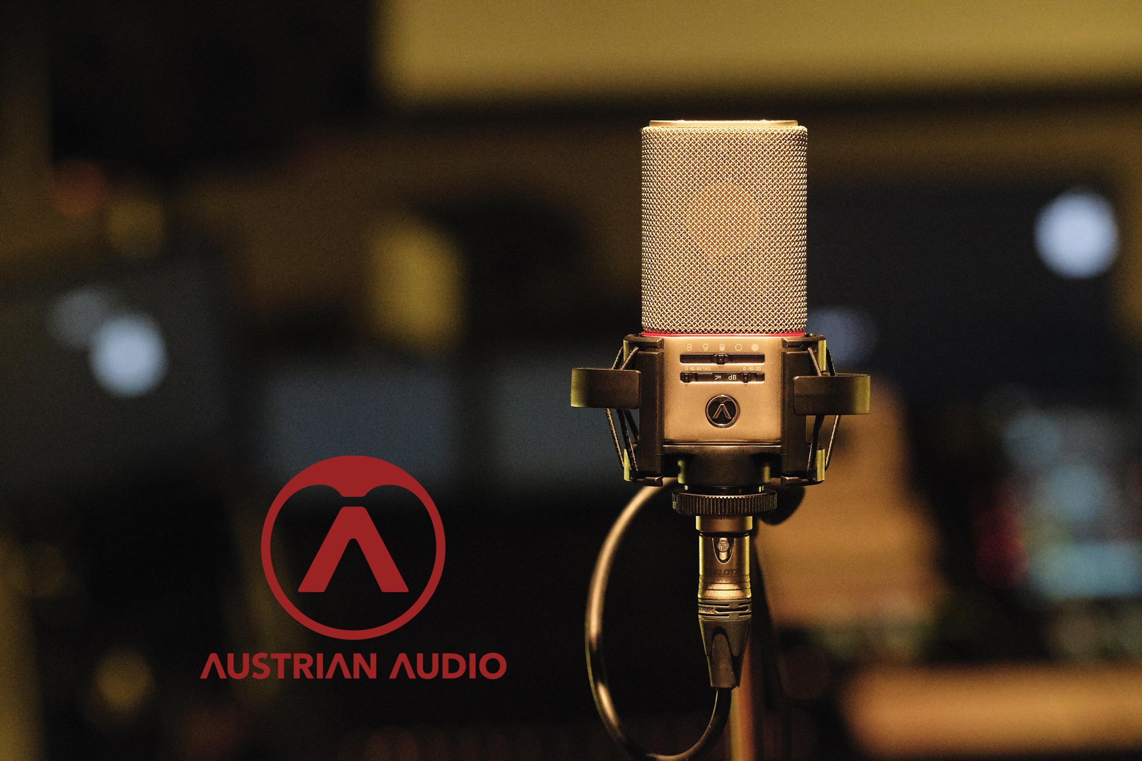 Austrian Audio OC818 och OC18!