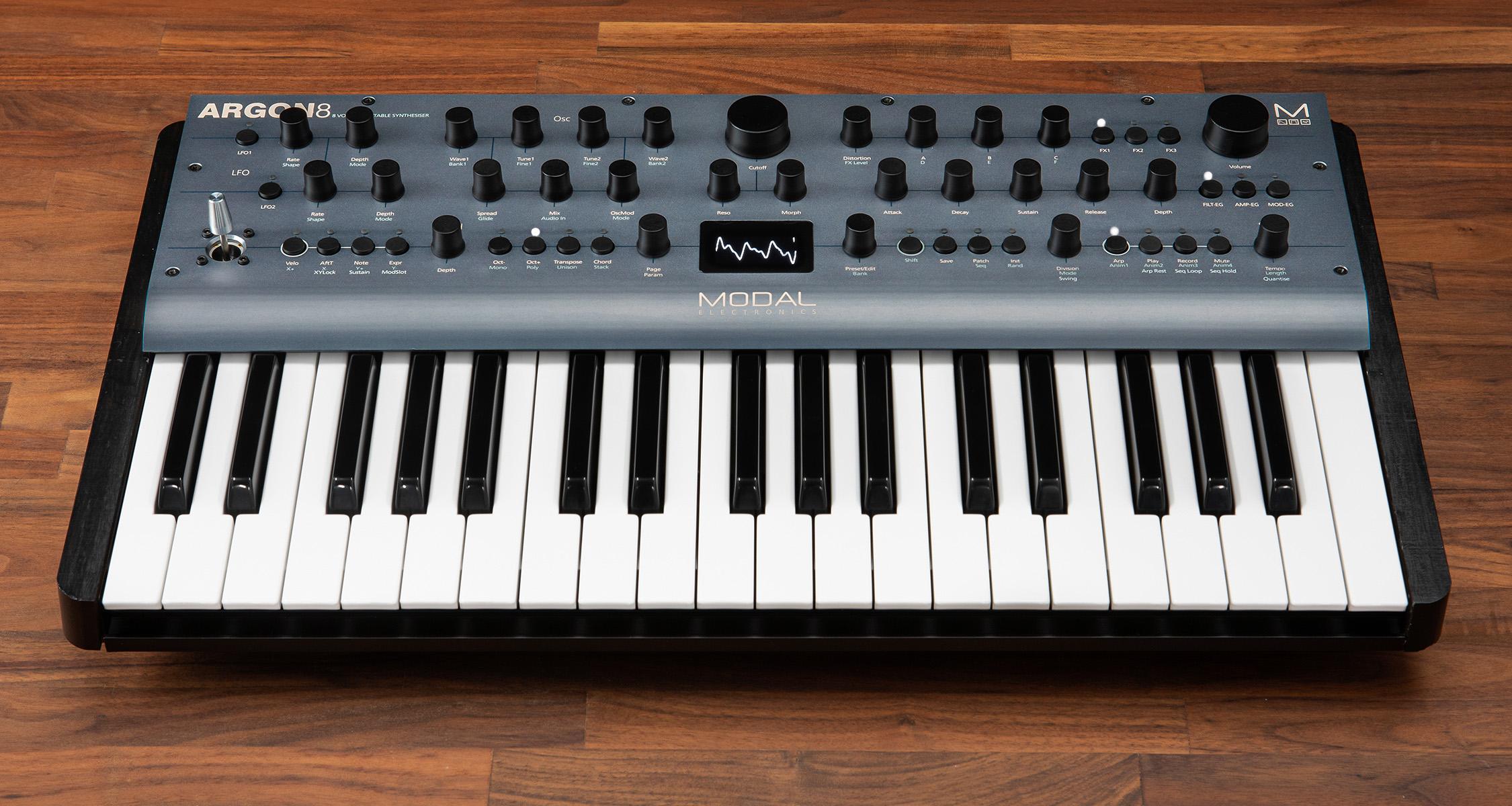 Modal Argon8 – Ny spännande polyfonisk Wavetable-synt