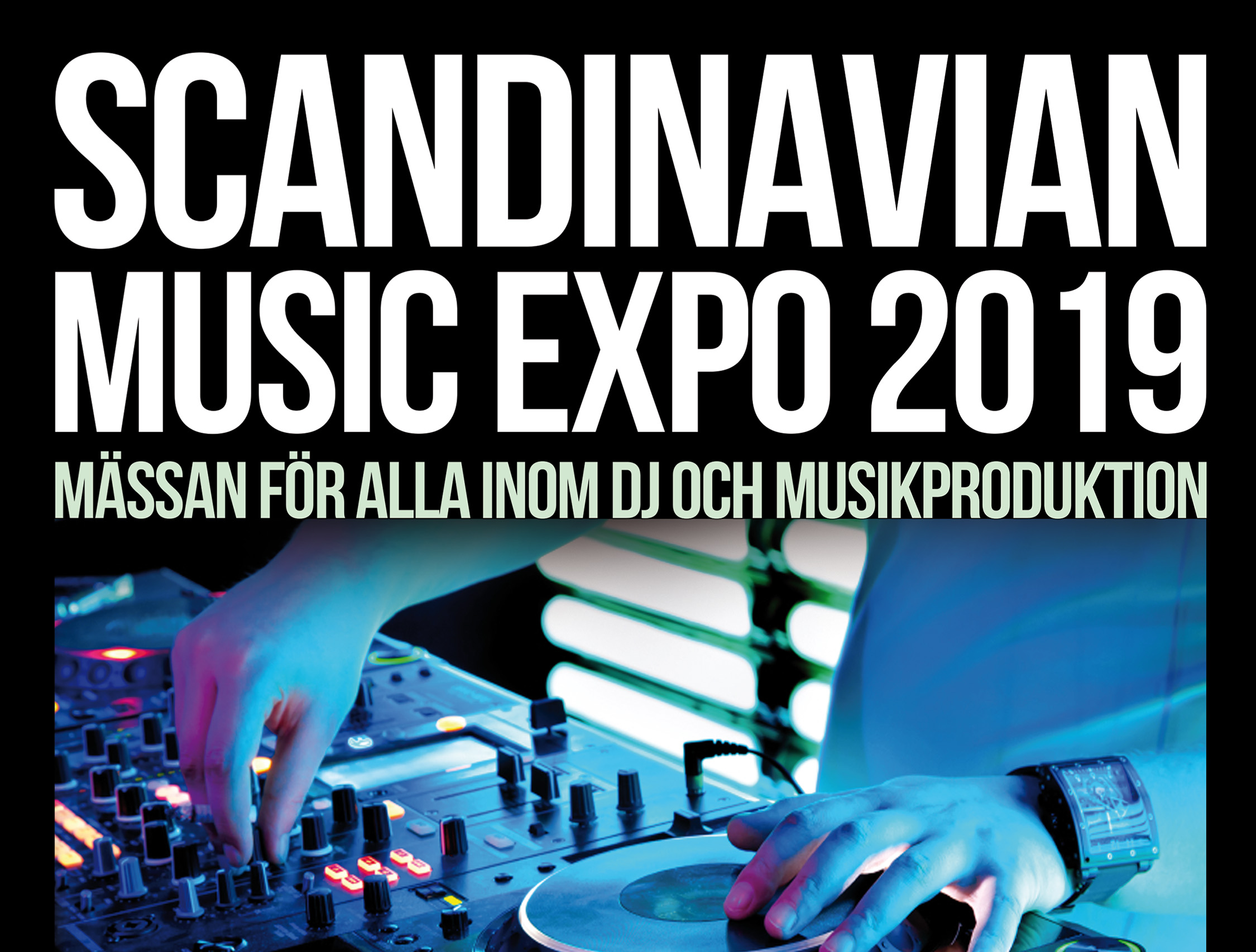 Fitzpatrick ställer ut på Scandinavian Music Expo 14:e september 2019