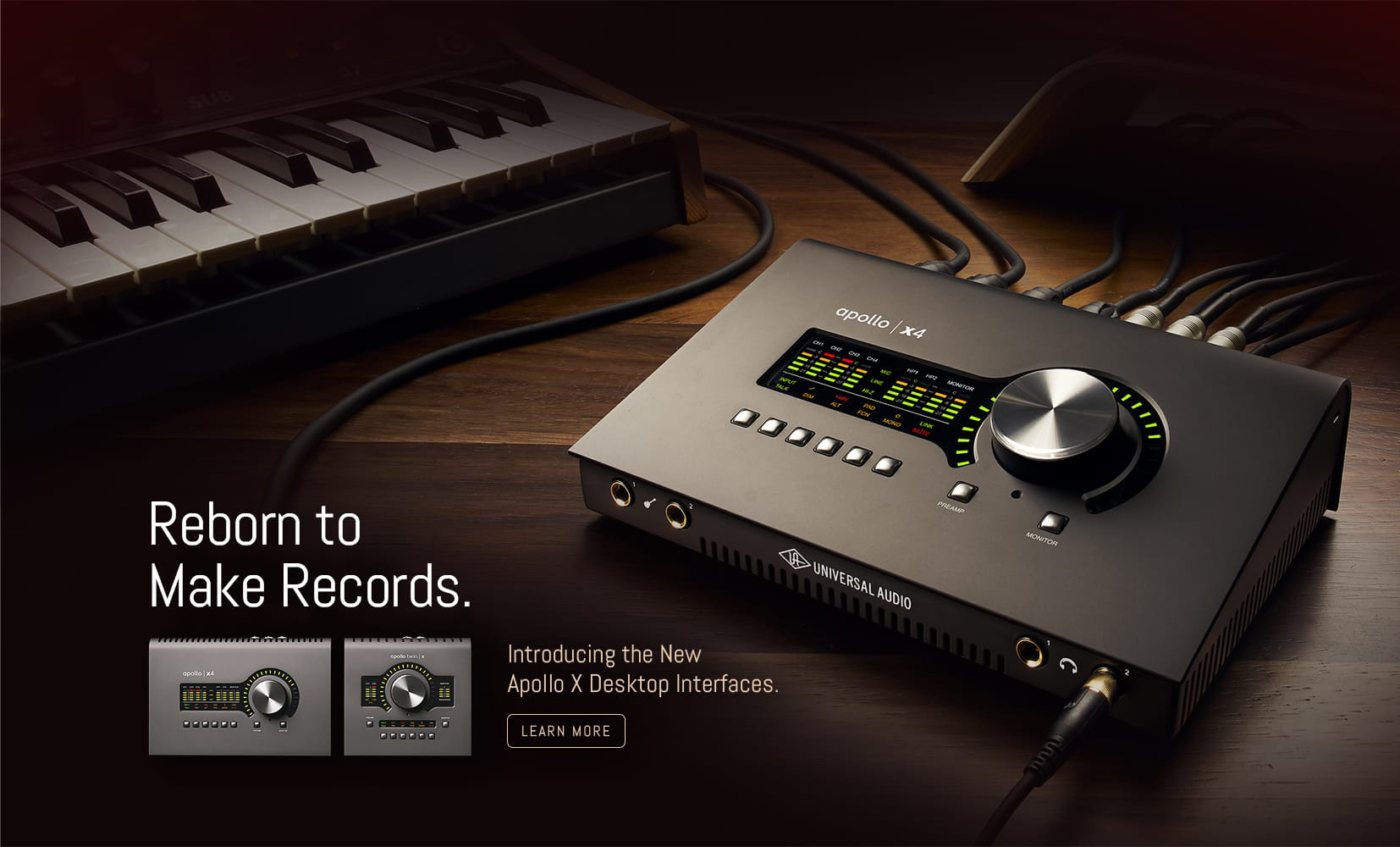Universal Audio lanserar nya ljudkort – Apollo x4 och Apollo Twin X