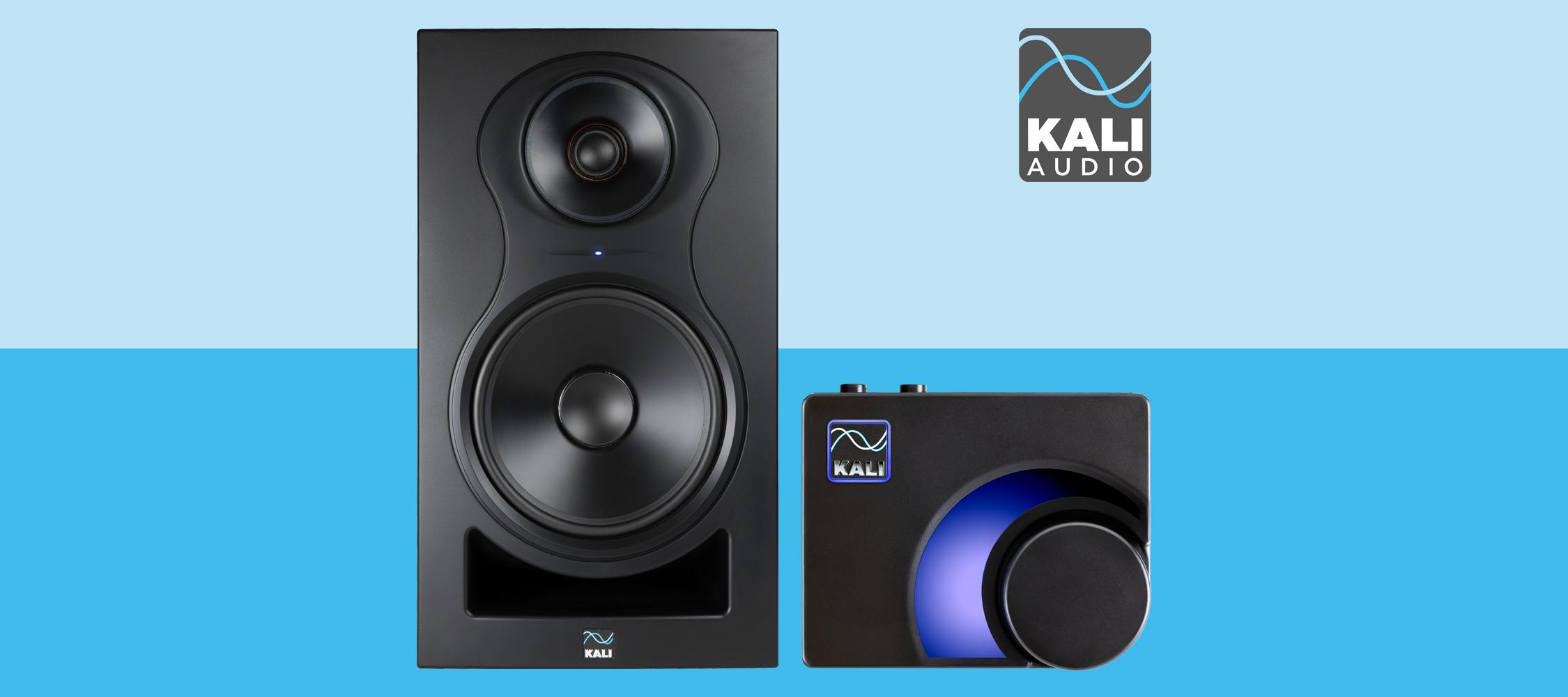 Kali Audio lanserar 3-vägs Co-Axial studiomonitor och volymkontroll med Bluetooth