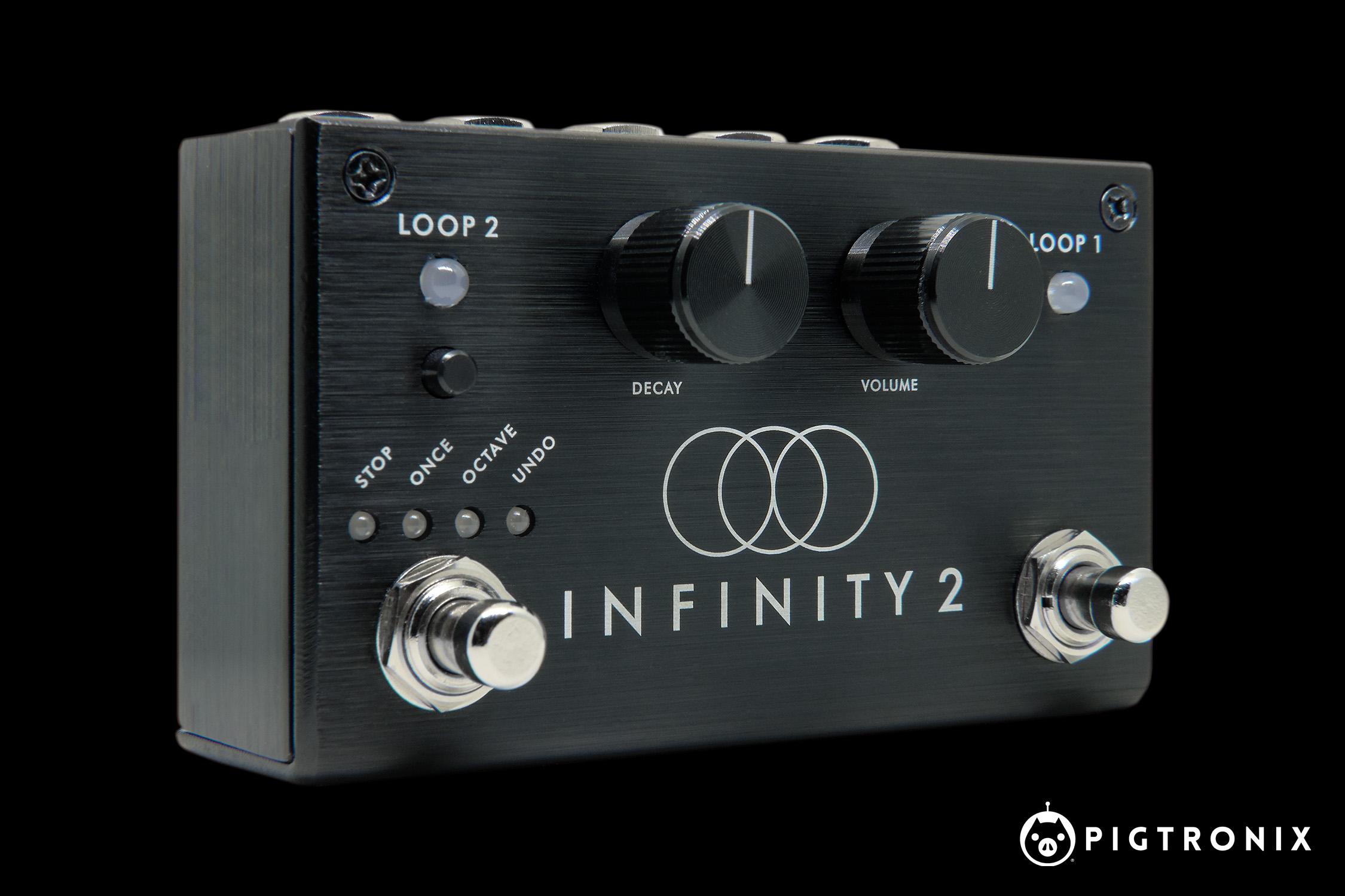 Pigtronix tar loop-pedalen till en ny nivå med nya Infinity 2 Looper