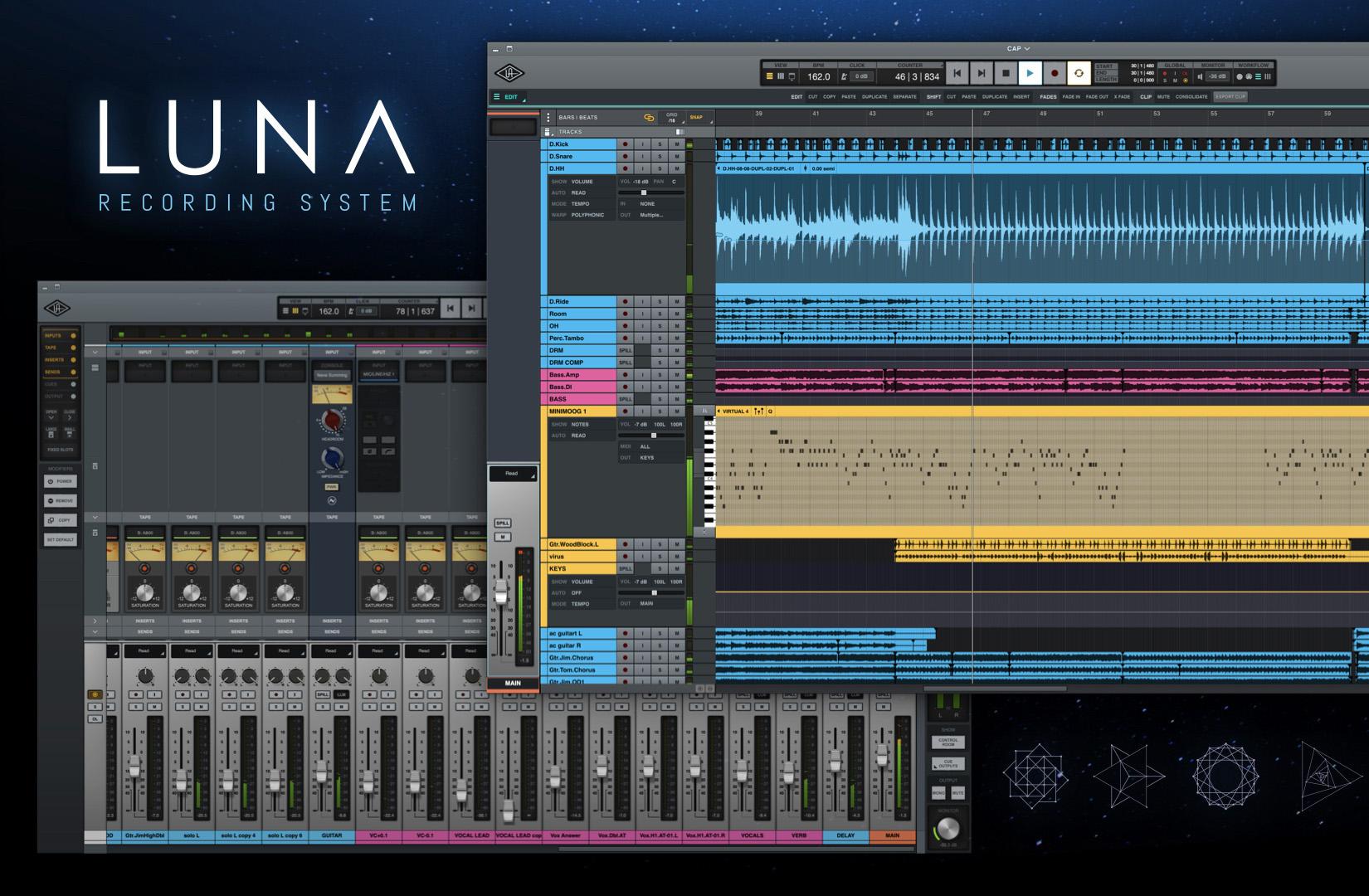 Universal Audio presenterar ny DAW för Apollo-användare – LUNA