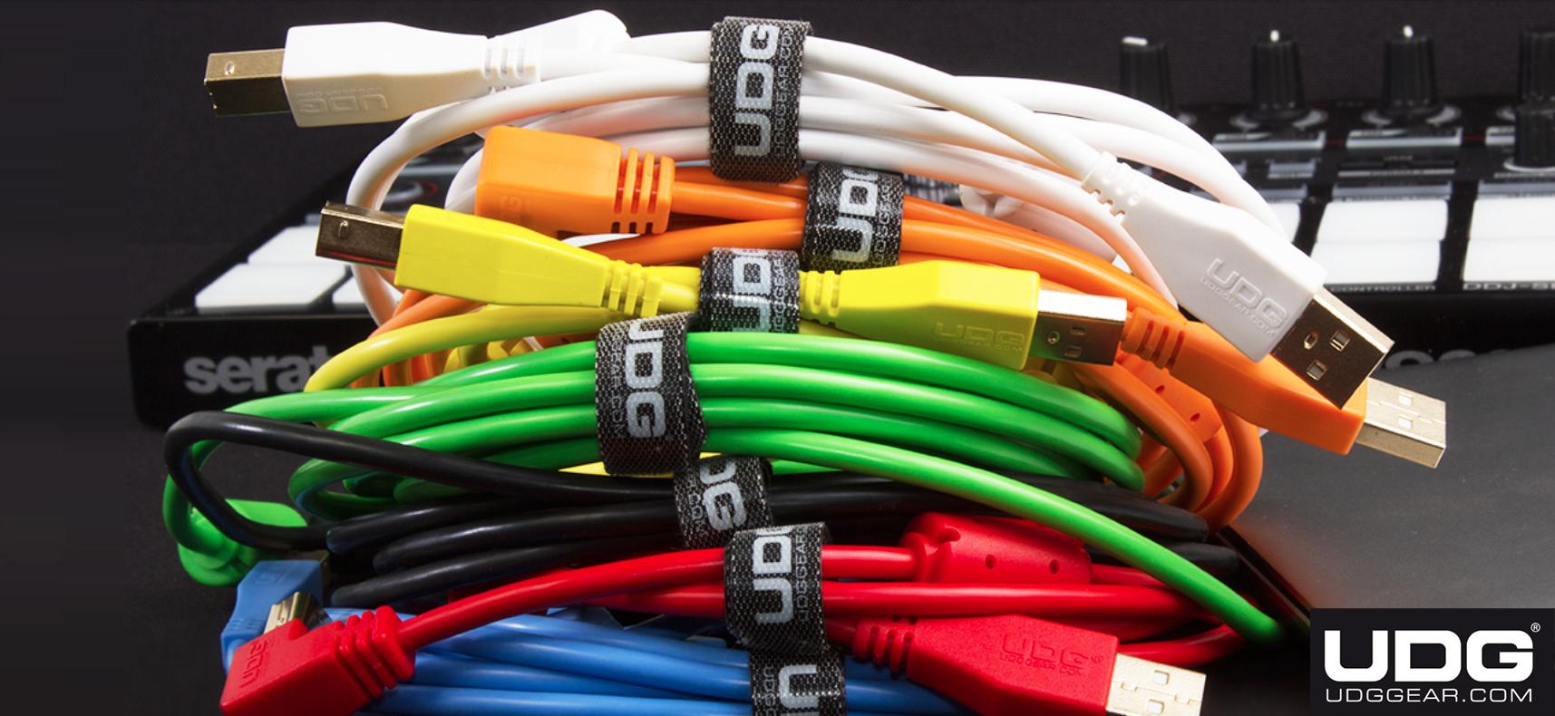 UDG Gear lanserar professionella USB-kablar