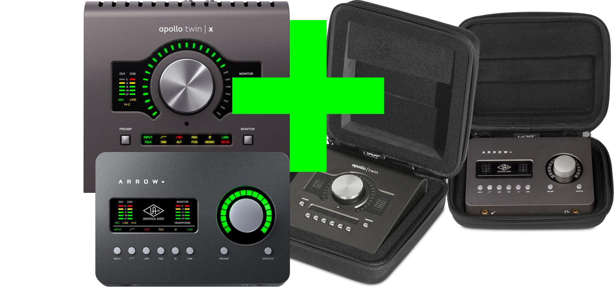 Universal Audio kampanj – Köp Twin eller Arrow och få UDG case utan extra kostnad