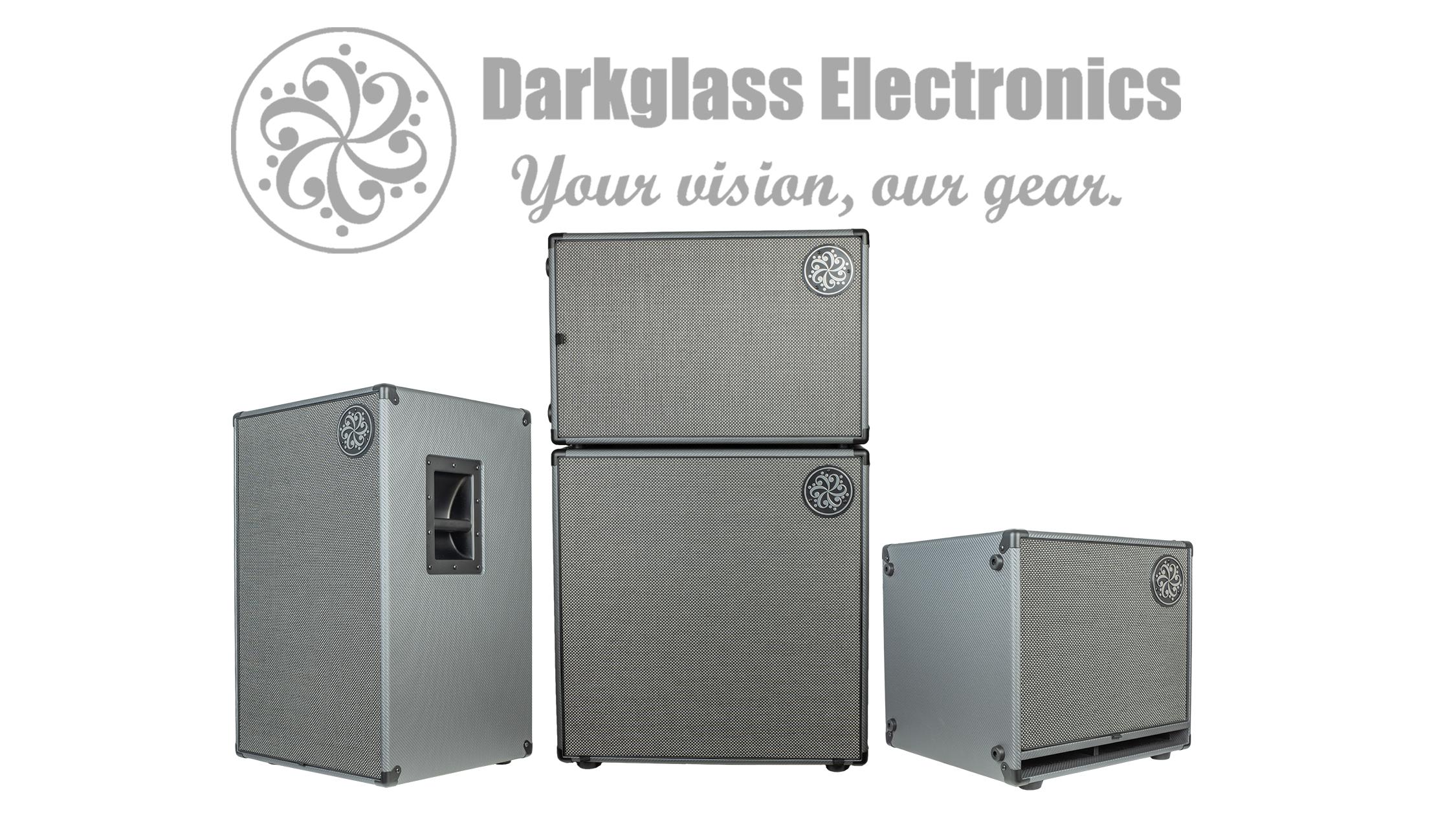 Darkglass – Nya kabinetter