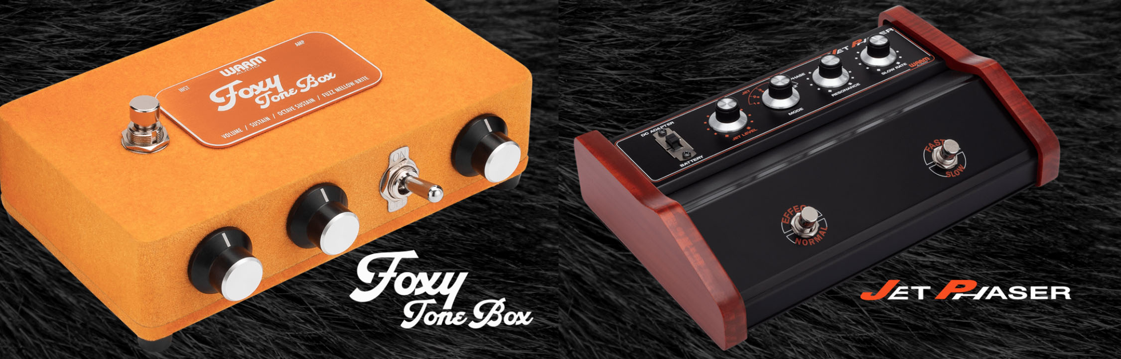 Jet Phaser & Foxy Tone Box! Nytt från Warm Audio