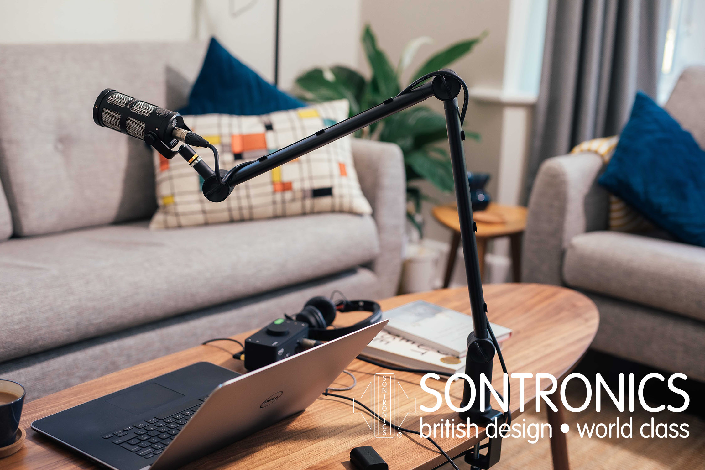 Nyheter från Sontronics – Elevate Broadcast Stand & XLR-USB Cable.
